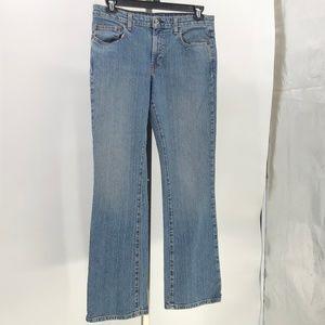 Ralph Lauren stretch lowrise bootcut jeans womens